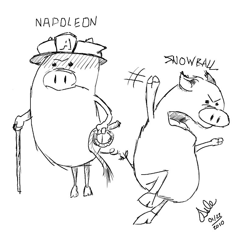 Napoleon and Snowball
